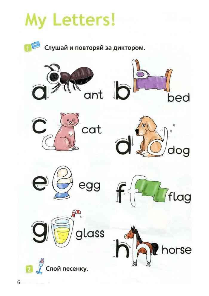 Картинки на английский язык 2 класс
