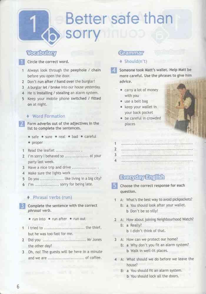 гдз спотлайт 6 класс рабочая тетрадь перевод
