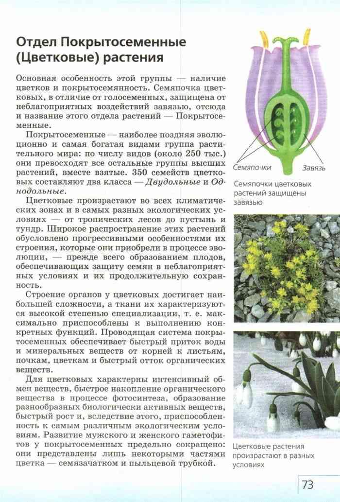 Учебник биология 7 класс захаров сонин читать онлайн.