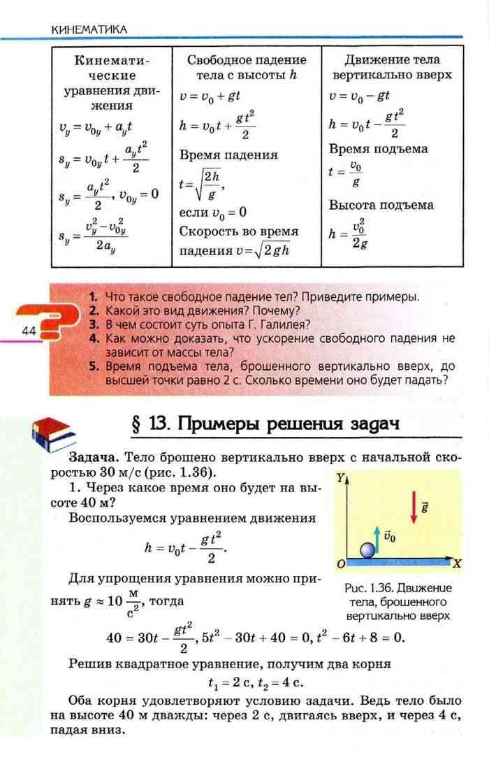Решение задач по учебнику физики коршак решение задач графиками