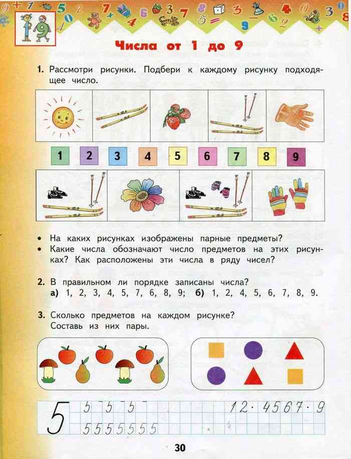 знакомство с понятием класс конспект математика